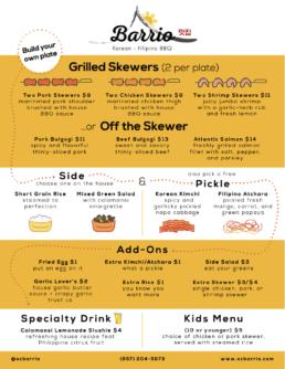 oc menu, SteelCraft Garden Grove
