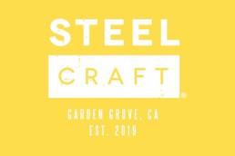 SteelCraft Garden Grove yellow logo