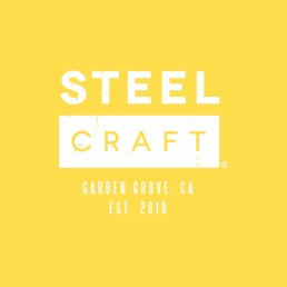 SteelCraft Garden Grove yellow logo