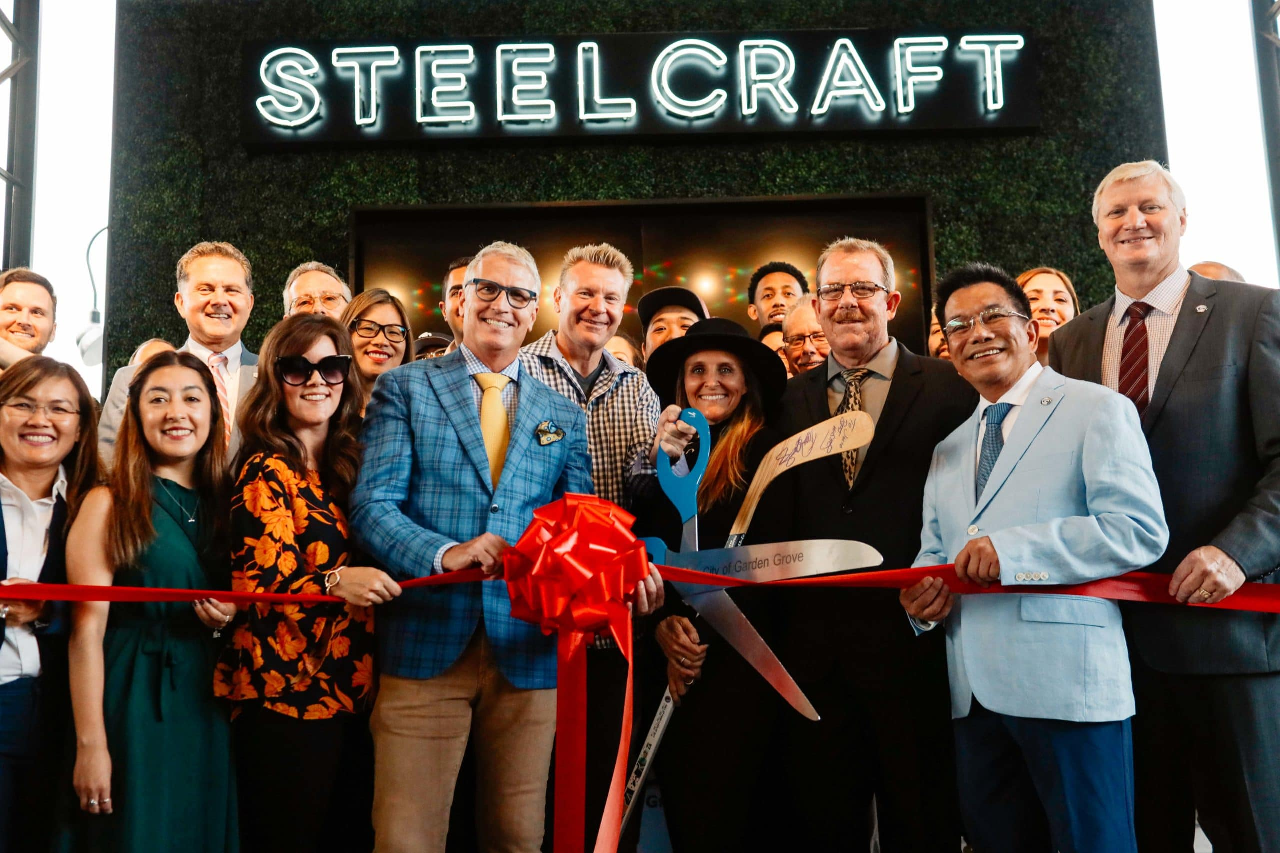 Steelcraft Garden Grove Celebrates Grand Opening Wilson Creek Winery Joins Vendor Lineup Steelcraft