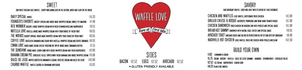 waffle, Waffle Love, Long Beach, SteelCraft