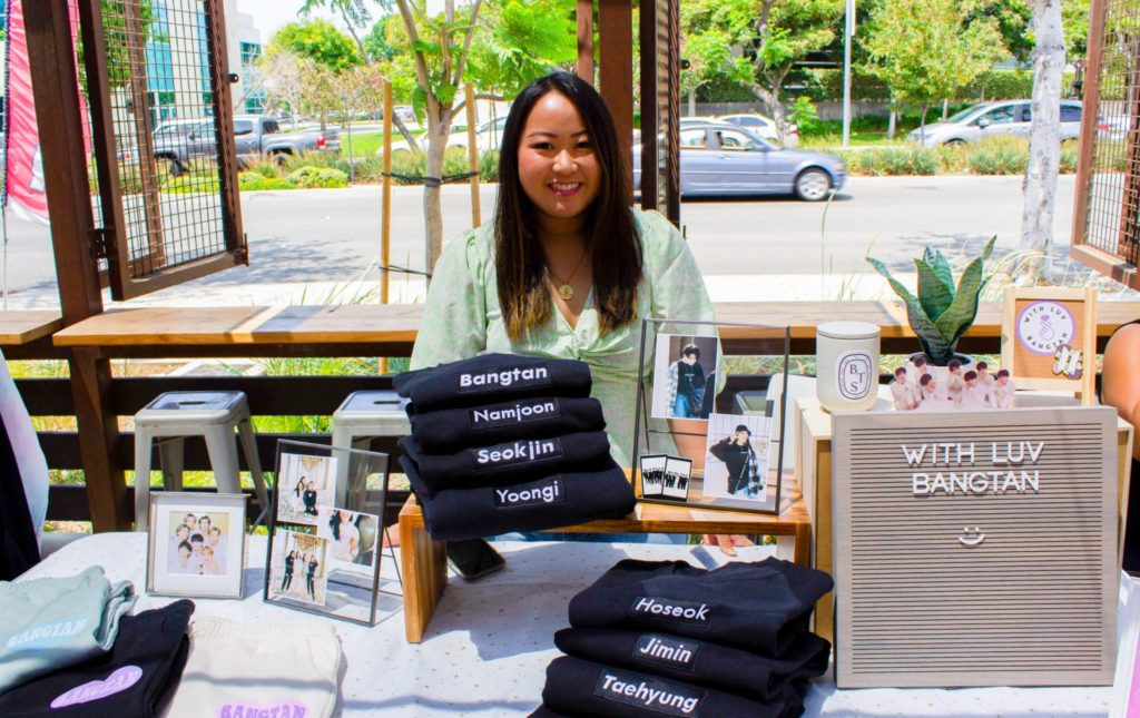 Small business selling sweatshirts and pants